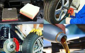 Выполнение технического обслуживания автомобиля